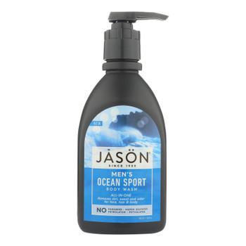 Jason Natural Products Body Wash - All N One - Sport - 30 Fl Oz