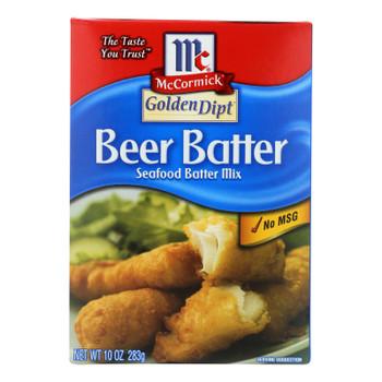 Golden Dipt - Breading - Beer Batter - Case Of 8 - 10 Oz.