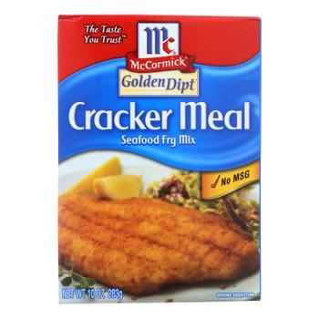 Golden Dipt - Breading - Cracker Meal - Case Of 8 - 10 Oz.