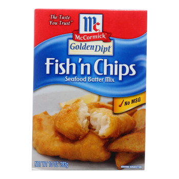 Golden Dipt - Breading - Fish N' Chips - Case Of 8 - 10 Oz.