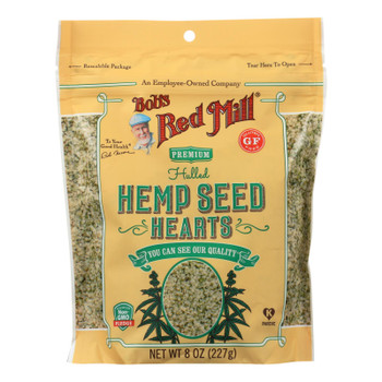Bob's Red Mill - Hemp Seeds - Hulled - Case Of 6 - 8 Oz