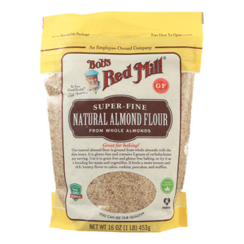 Bob's Red Mill - Flour - Almond - Natural - Case Of 4 - 16 Oz