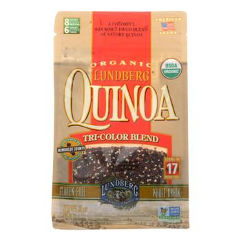 Lundberg Family Farms Quinoa - Organic - Tricolor Blend - Case Of 6 - 12 Oz