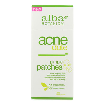 Alba Botanica - Acnedote Pimple Patches - 40 Count