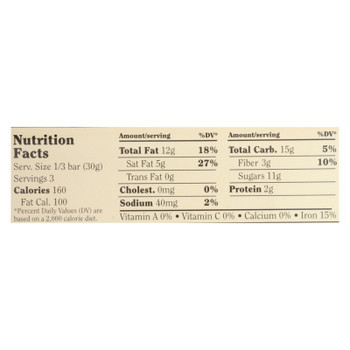 Chocolove Xoxox - Premium Chocolate Bar - Dark Chocolate - Almonds And Sea Salt - 3.2 Oz Bars - Case Of 12