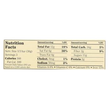 Chocolove Xoxox - Bar - Almond - Toffe - Sea Salt - Dark Chocolate - Case Of 12 - 3.2 Oz