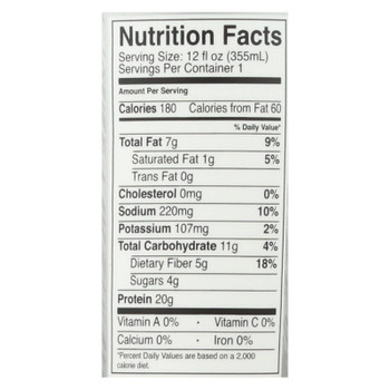 Only What You Need - Plant Based Protein Shake - Vanilla - Case Of 12 - 12 Fl Oz.