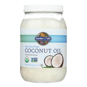 Garden Of Life Oil Coconut - Organic - Raw Extra Virgin - Case Of 4 - 56 Fl Oz