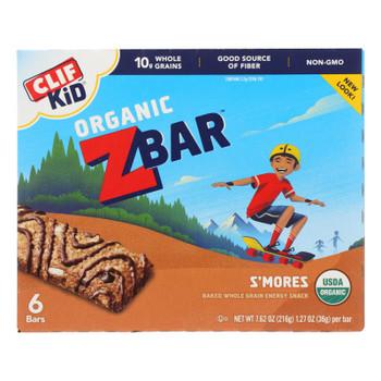 Clif Kid Zbar - Smores - Case Of 9 - 7.62 Oz