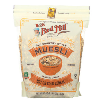 Bob's Red Mill - Cereal - Muesli - Hot Or Cold - Case Of 4 - 40 Oz