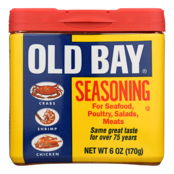 Old Bay - Seasoning - Original - Case Of 8 - 6 Oz