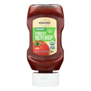 Woodstock Organic Tomato Ketchup - 1 Each 1 - 15 Oz