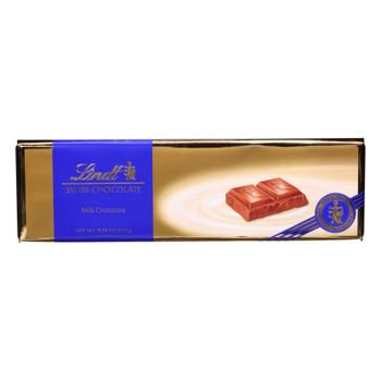 Lindt - Bar Swiss Milk Chocolate - Case Of 10-10.5 Oz