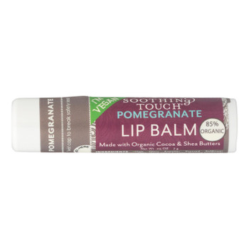 Soothing Touch Pomegranate Lip Balm  - Case Of 12 - .25 Oz