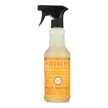 Mrs. Meyer's Clean Day - Multi-surface Everyday Cleaner - Orange Clove - Case Of 6 - 16 Fl Oz.
