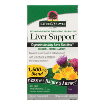 Nature's Answer - Liver Support - 90 Vegetarian Capsules