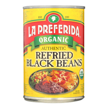 La Preferida Beans - Organic Beans - Case Of 12 - 15 Oz.