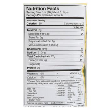 Late July Snacks Snack Chips - Mild Green Mojo Multigrain - Case Of 12 - 5.5 Oz.