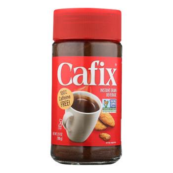 Cafix - All Natural Instant Beverage - Case Of 12 - 3.5 Oz.