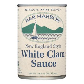 Bar Harbor - New England Style White Clam Sauce - Case Of 6 - 10.5 Oz.