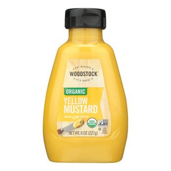 Woodstock Organic Yellow Mustard - 1 Each 1 - 8 Oz