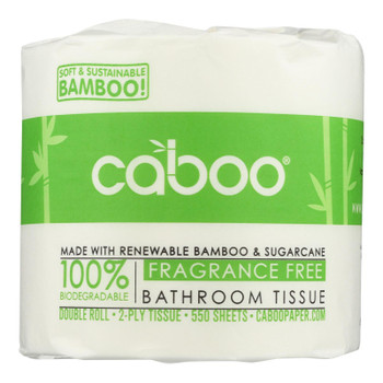 Caboo - Bath Tissue - Fragrance Free 2-ply - Case Of 40 - 1 Count