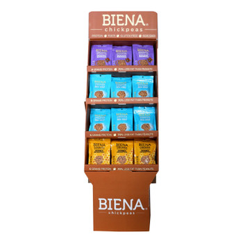 Biena Chickpea Snacks - Variety Pack - Case Of 48 - 5 Oz.