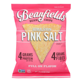 Beanfields - White Bean And Rice Chips - Sea Salt - Case Of 24 - 1.50 Oz.