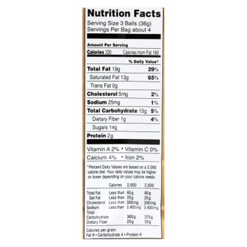 Lindt - Truffles Chocolate Bag - Case Of 6-5.1 Oz