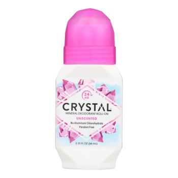 Crystal Body Deodorant Roll-on - 2.25 Fl Oz