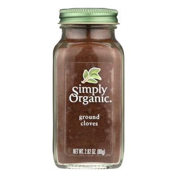 Simply Organic Cloves - Organic - Ground - 2.82 Oz
