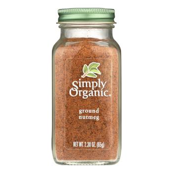 Simply Organic Nutmeg - Organic - Ground - 2.3 Oz