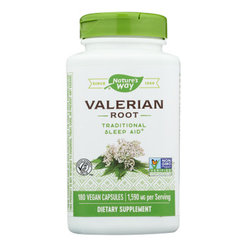 Nature's Way - Valerian Root - 180 Capsules