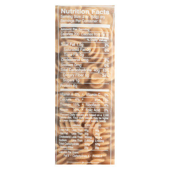 Delallo - Organic Whole Wheat Fusilli Pasta - Case Of 16 - 1 Lb.
