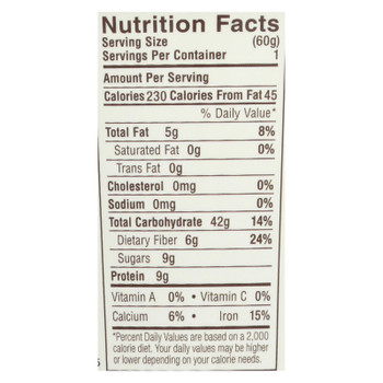 Dave's Gourmet - Overnight Oats - Mixed Berry  - Case Of 8 - 2.1 Oz.
