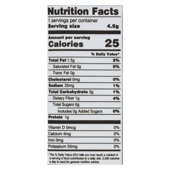 Annie Chun's Seaweed Snack - Sea Salt And Vinegar - Case Of 12 - .16 Oz.
