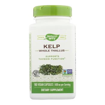 Nature's Way - Kelp - 180 Capsules