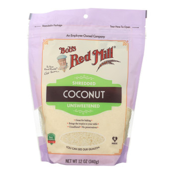 Bob's Red Mill - Coconut Shredded - Case Of 4-12 Oz