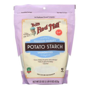 Bob's Red Mill - Potato Starch Gf - Case Of 4-22 Oz