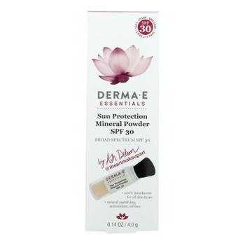 Derma E - Sunscreen - Ash Deleon - Case Of 1 - .14 Oz.