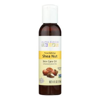 Aura Cacia - Body Oil - Shea Nut - Case Of 1 - 4 Fl Oz.