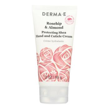 Derma E - Lotion - Hand Cream - Rosehip & Almond - Case Of 1 - 2 Oz.