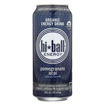 Hi Ball Energy Energy Drink - Pomegranate Acai - Case Of 1 - 8/16 Fl Oz.