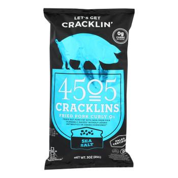 4505 - Cracklins - Sea Salt - Case Of 12 - 3 Oz.