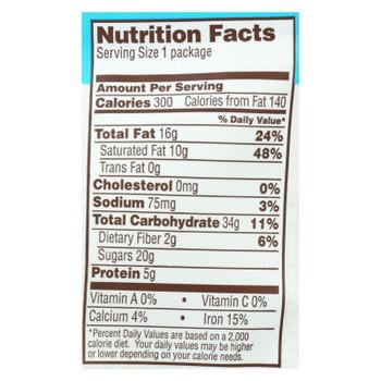 Bark Thins Snacking Chocolate - Dark Chocolate Coconut - Case Of 12 - 2 Oz.