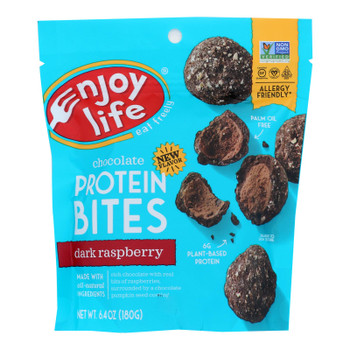 Enjoy Life - Protein Bites - Dark Raspberry - Case Of 6 - 6.4 Oz.