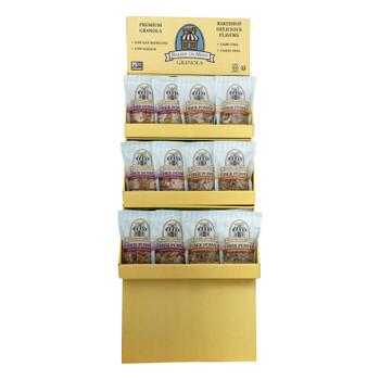 Bakery On Main Granola Display - Cinnamon Raisin Triple Berry - Case Of 36 - 12 Oz.