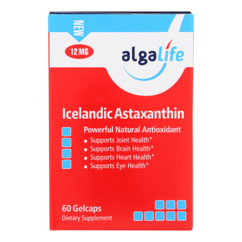 Algalife Usa Icelandic Astaxanthin 12mg - 60 Count