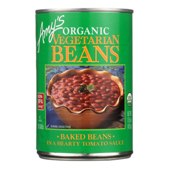 Amy's - Organic Vegetarian Baked Beans - Case Of 12 - 15 Oz.