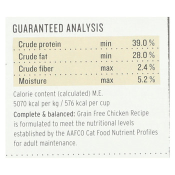 The Honest Kitchen - Cat Food - Grain Free Chicken Recipe - 2 Lb.